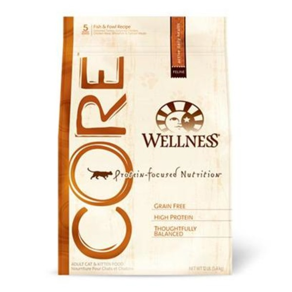 Wellness Core Fish and Fowl Dry Cat Food