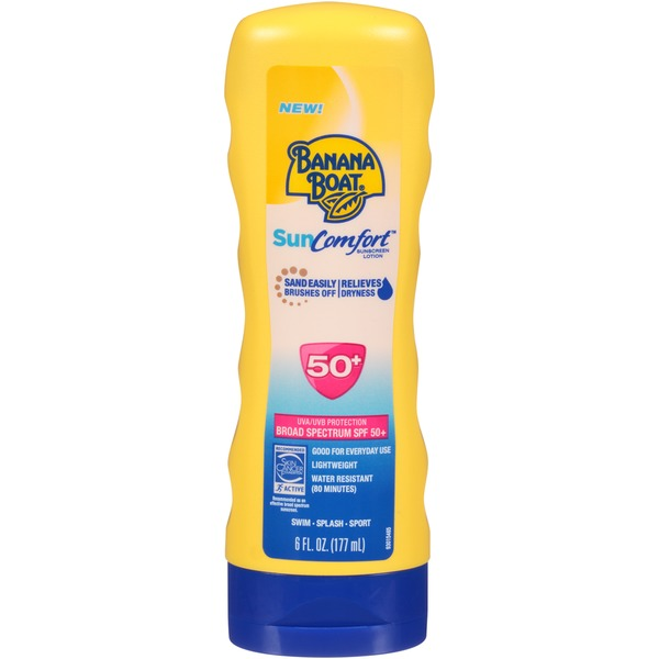Banana Boat SunComfort SPF 50 Sunscreen Lotion