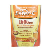 Ester-C Effervescent 1000 mg Vitamin Effervescent powder Orange Flavor single