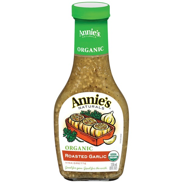 Annie's Homegrown Organic Roasted Garlic Vinaigrette Dressing Organic