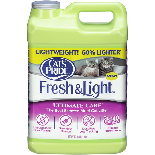 Cat's Pride Fresh & Light Ultimate Care Scented Multi-Cat Cat Litter