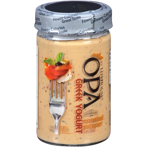 Litehouse OPA Greek Yogurt Roasted Pepper Dressing