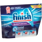 Finish Powerball Quantum Max Shine & Protect Automatic Dishwasher Detergent Capsules
