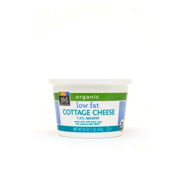 365 Organic Low Fat 1.5% Cottage Cheese