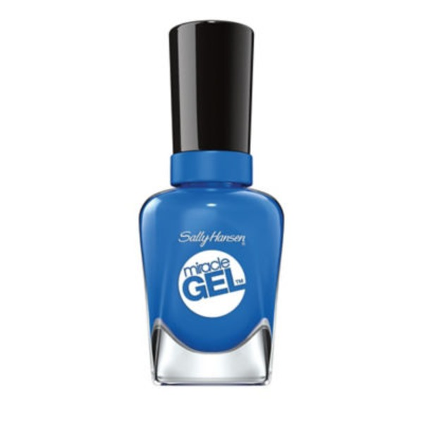Sally Hansen Miracle Gel Nail Color 790 Byte Blue