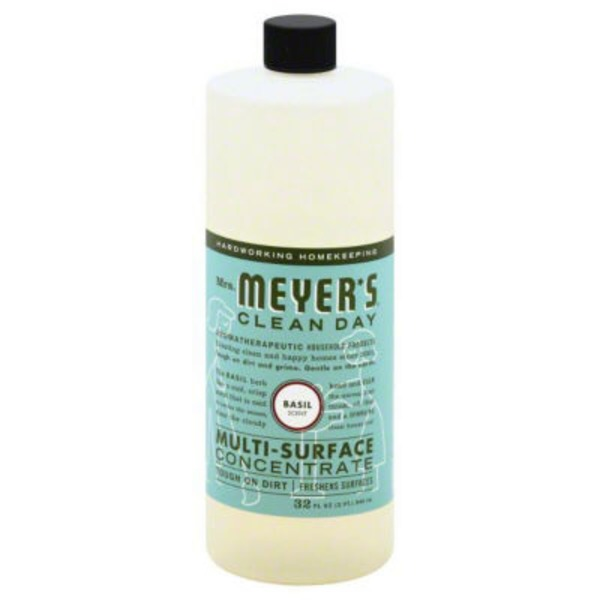 Mrs. Meyer's Mrs. Meyer's Clean Day Basil Scent Concentrate Multi-Surface Cleaner