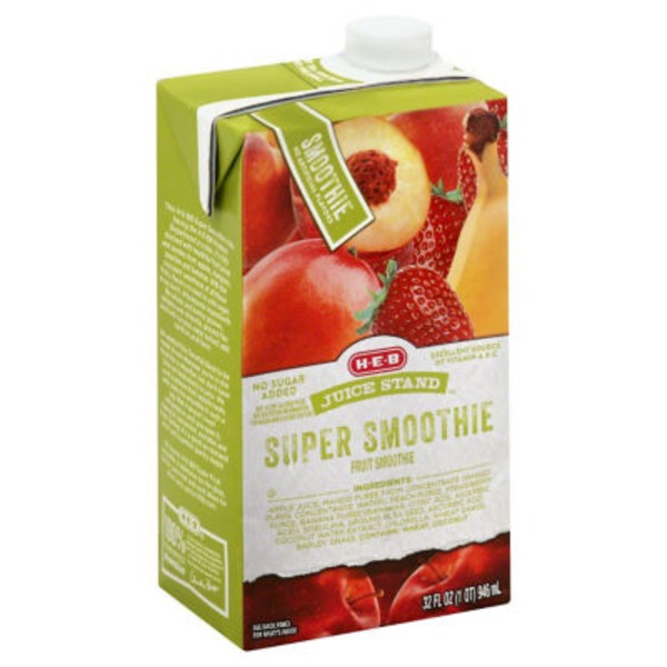 H-E-B Juice Stand Super Smoothie