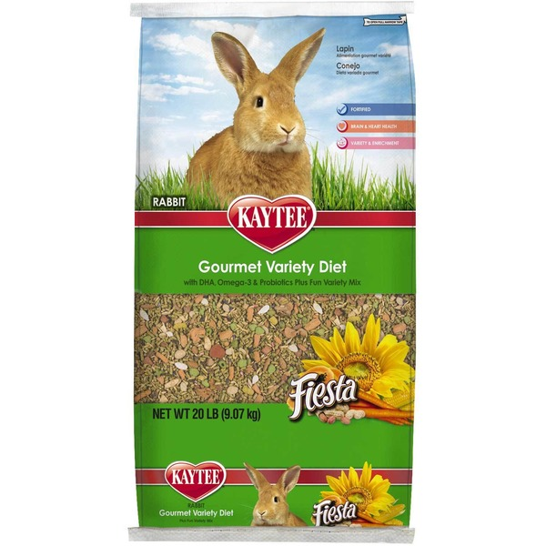 Kaytee Fiesta Max Food For Rabbits 20 Lbs.