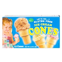 Edward & Sons Let's Do...Gluten Free Ice Cream Cones