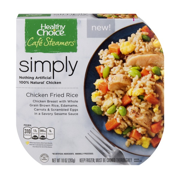 Healthy Choice Cafe Steamers Simply Chicken Fried Rice