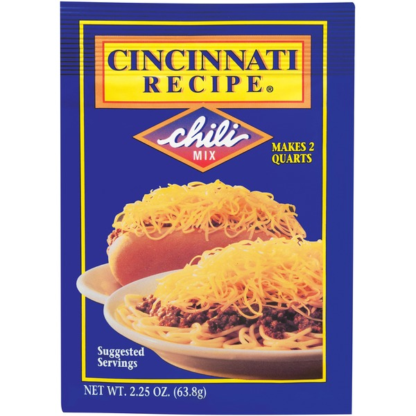 Cincinnati Recipe Chili Mix