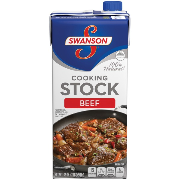 Swanson's Beef Cooking Stock