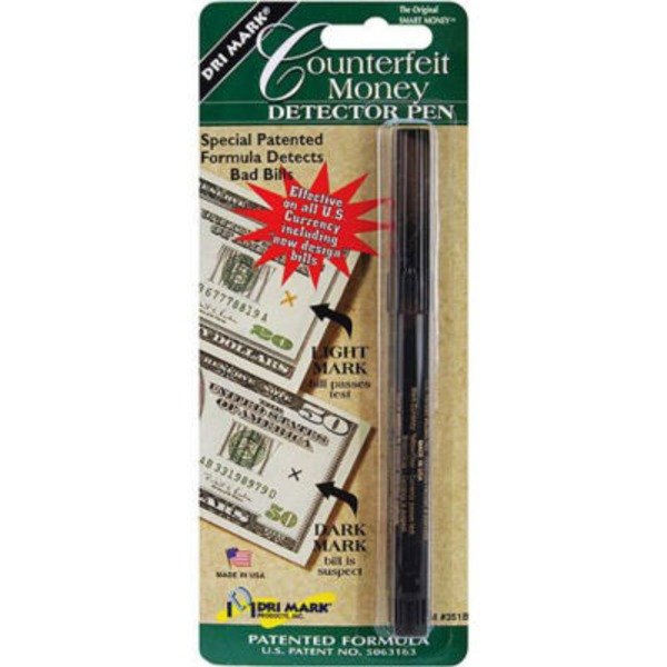 Dry Mark Counterfeit Money Detector Pen