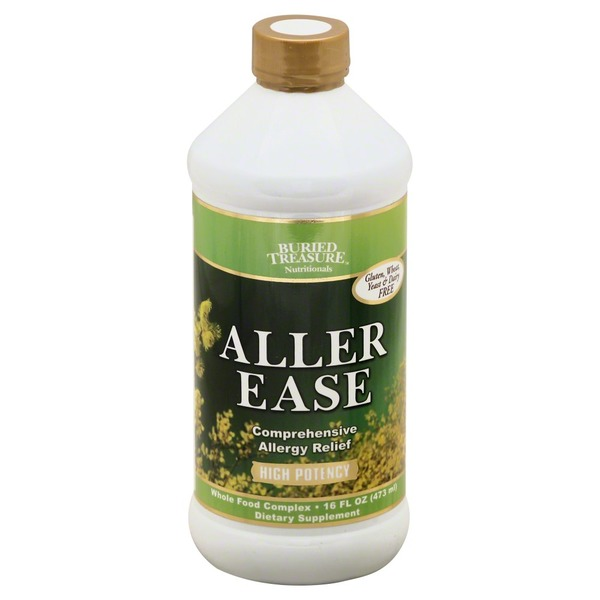 Buried Treasure Aller Ease, Gluten Free, Bottle