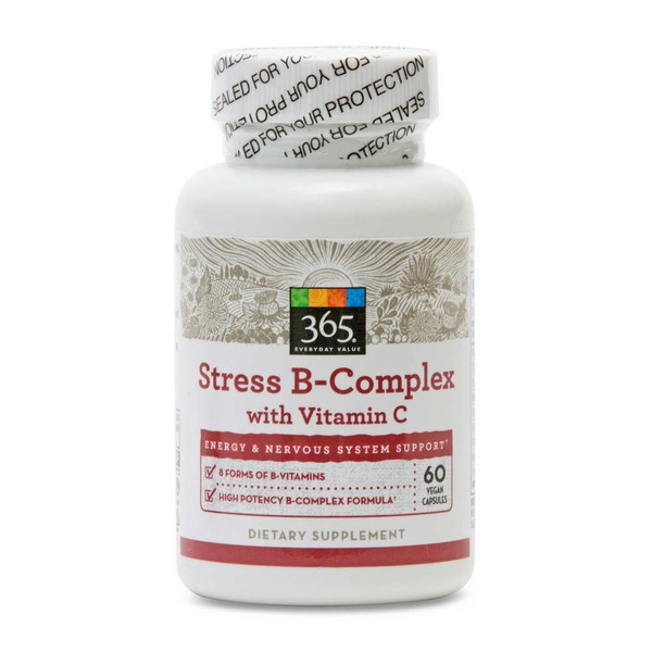 365 Stress B Complex with Vitamin C