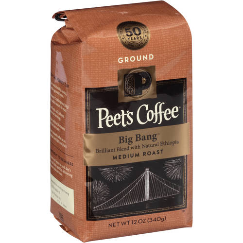 Peet's Coffee Big Bang Medium Roast Ground Coffee