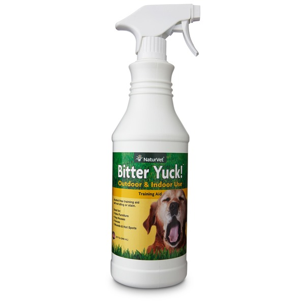 NaturVet Bitter Yuck Dog Training Aid 32 Fl. Oz.