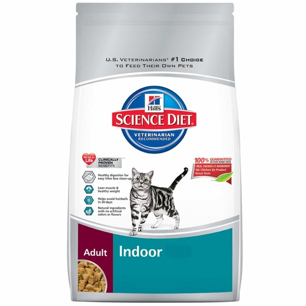 Hill's Science Diet Indoor Formula Dry Cat Food for Adult Cats Ages 1-6