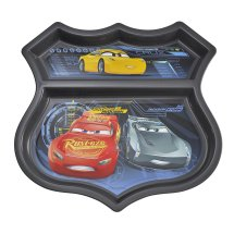 The First Years Disney/Pixar Cars 3 Sectioned Plate, BPA-Free