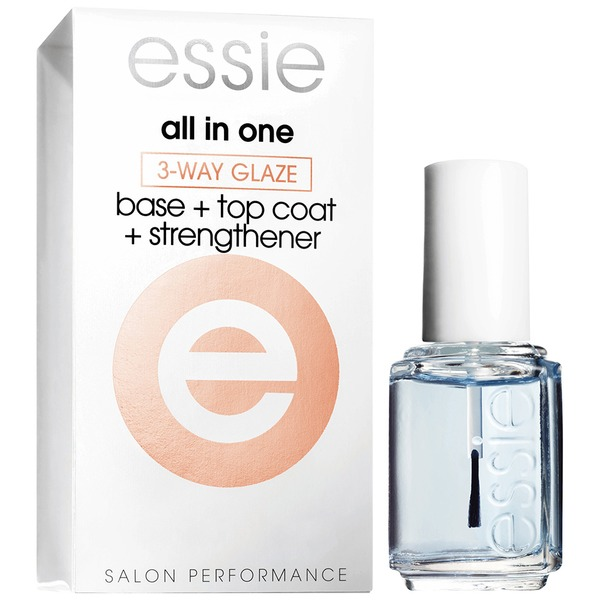 All In One Base + Top Coat + Helps Strengthen 3-Way Glaze