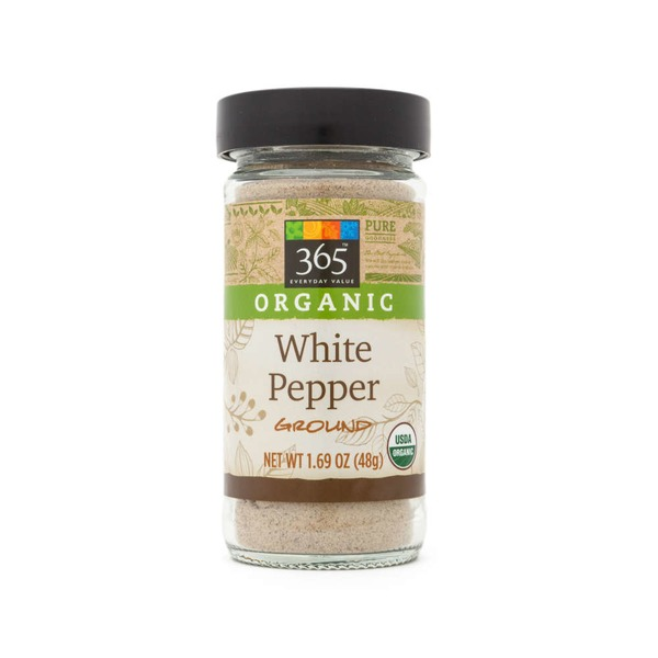 365 Organic Ground White Pepper