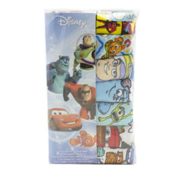 Handcraft Toddler Boys Disney Multi-Character Size 4T Briefs