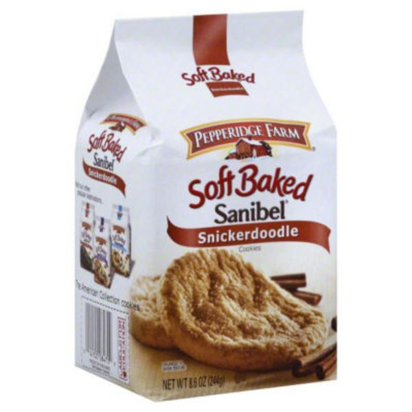 Pepperidge Farm Cookies Soft Baked Sanibel Snickerdoodle Cookies