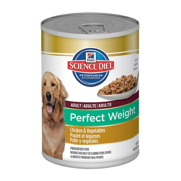 Hill's Science Diet Adult Perfect Weight Chicken & Vegetables Canned Premium Dog Food