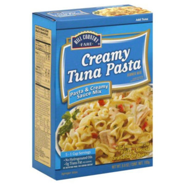 Hill Country Fare Creamy Tuna Pasta Dinner Mix