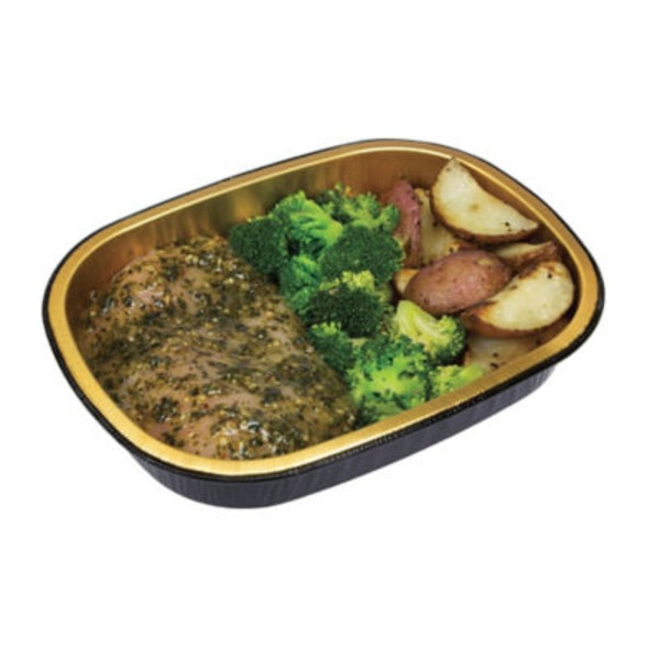 H-E-B Basil Pesto Chicken Breast With Potato And Broccoli