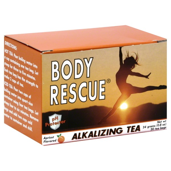 Body Rescue Apricot Alkalizing Tea