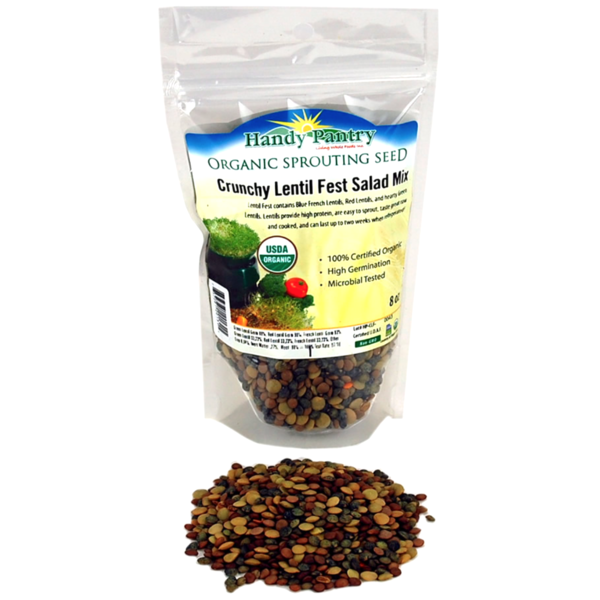 Handy Pantry Crunch Lentil Fest Salad Mix