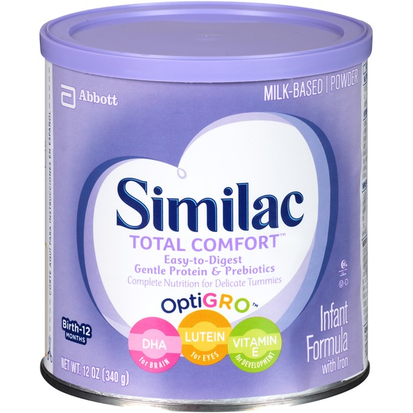Similac Total Comfort Total Comfort with Iron Infant Formula