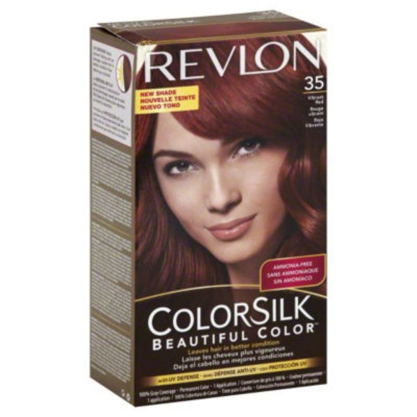 Colorsilk Vibrant Red Permanent Color