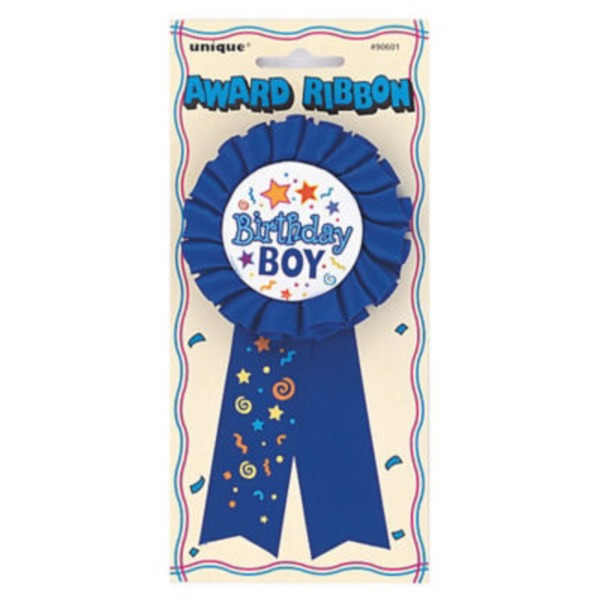Unique Birthday Boy Award Ribbon