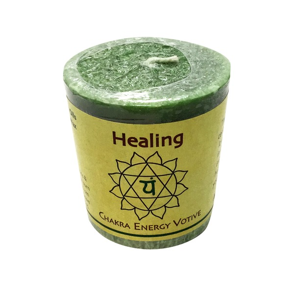 Aloha Bay Healing Chakra Energy Votive Candle