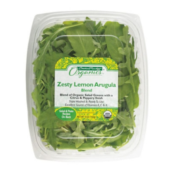 Central Market Organic Lemony Arugula Blend