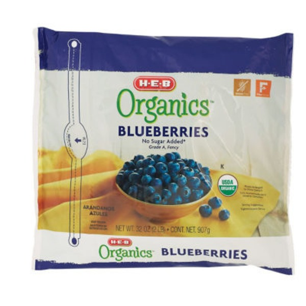 H-E-B Organcis Organic Blueberries