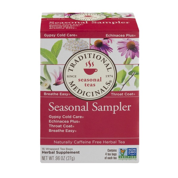 Traditional Medicinals Cold Care Seasonal Sampler
