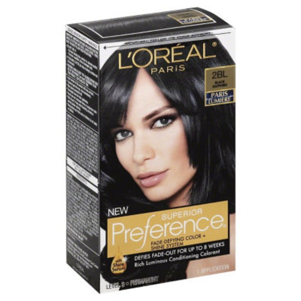 Superior Preference Cool 2BL Black Sapphire Hair Color