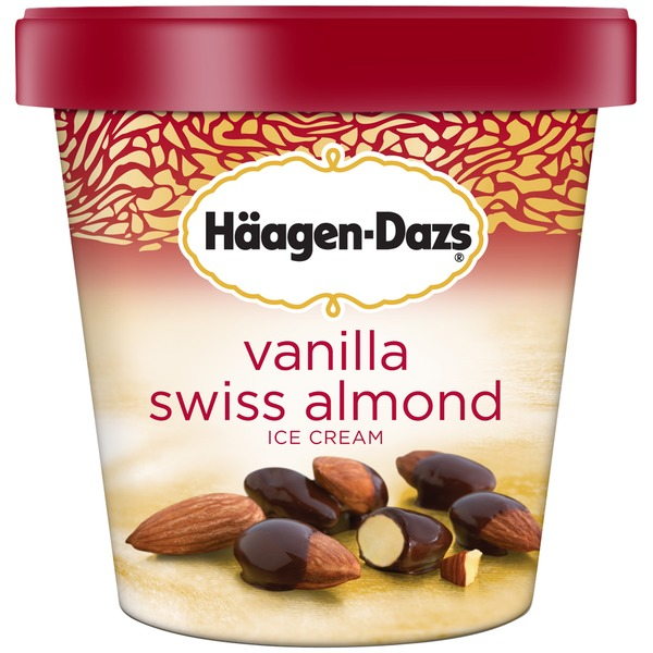 Haagen-Dazs Vanilla Swiss Almond Ice Cream