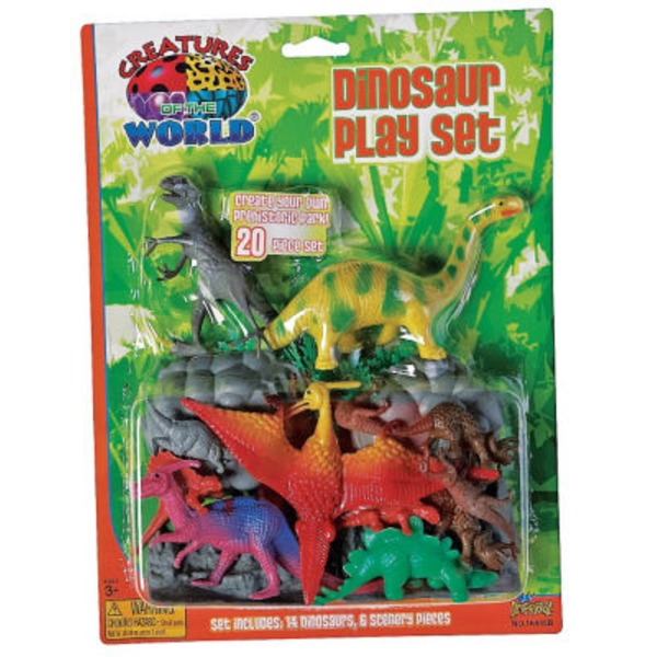 Imperial Dinosaur Playset 20 Ct