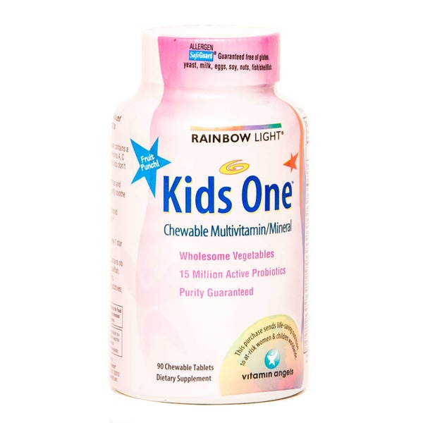 Rainbow Light Kid's One Food-Based Multivitamin Dietary Supplement Tablets - 90 CT