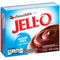 Jell-O Sugar Free Fat Free Chocolate Instant Reduced Calorie Pudding & Pie Filling Mix