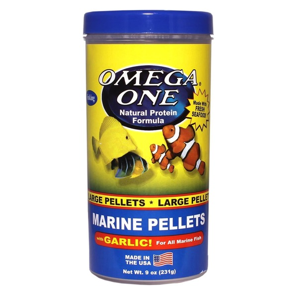 Omega One Garlic Marine Large Sinking Pellets