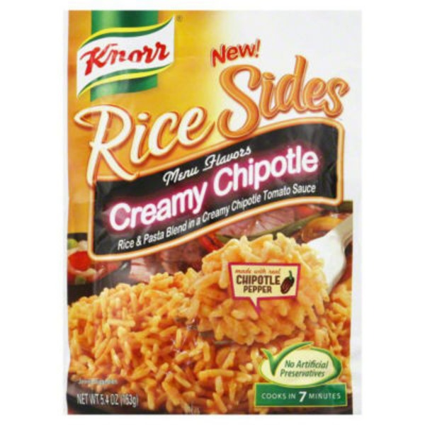 Knorr Creamy Chipotle Rice Side Dish
