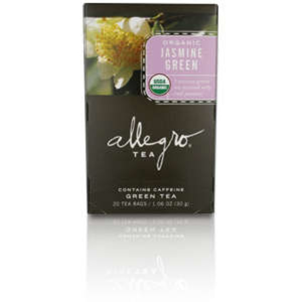 Allegro Organic Jasmine Green Tea