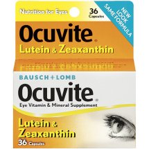 Ocuvite Lutein Capsules Vitamin & Mineral Supplement 36 ct