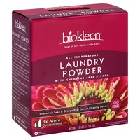 Biokleen Laundry Powder, Grapefruit Seed & Orange Peel Extract