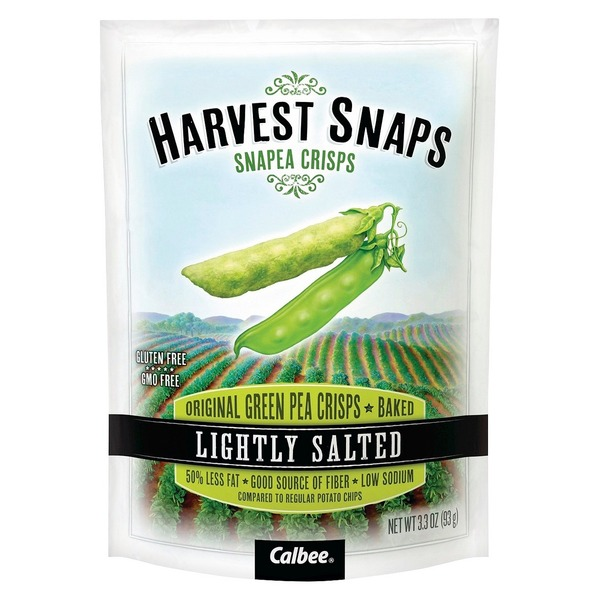 Harvest Snaps Lightly Salted Baked Snap Pea Crisps